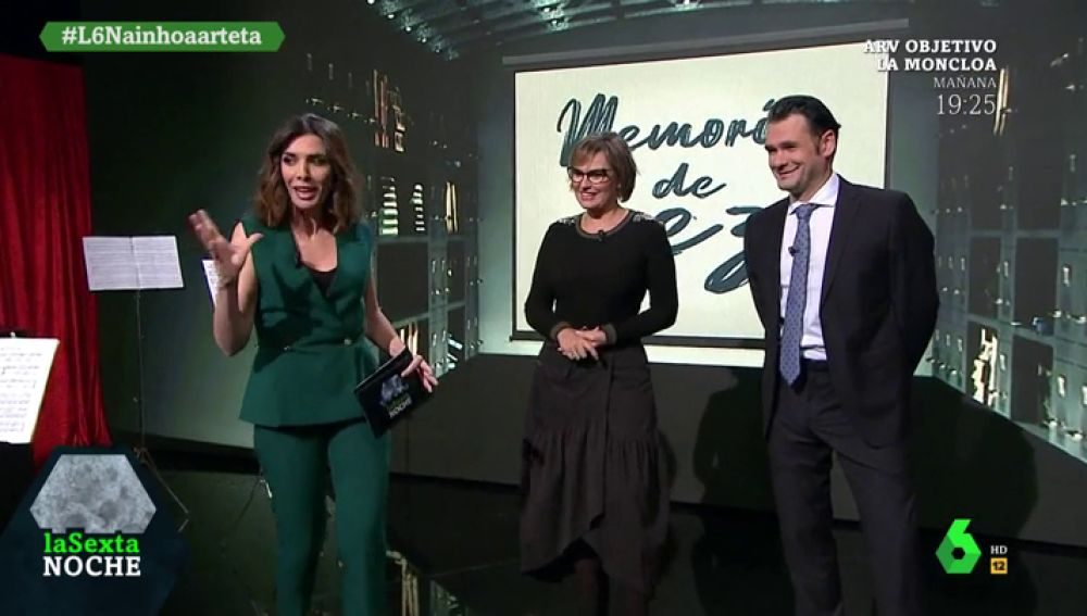 La 'memoria de pez' de Ainhoa Arteta: de participar en 'Sorpresa, sorpresa' a cantar una canción de reggaeton