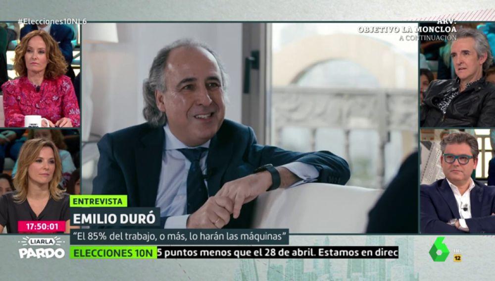 Emilio Duró en Liarla Pardo