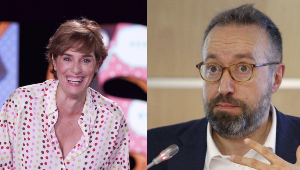 Anabel Alonso y Juan Carlos Girauta