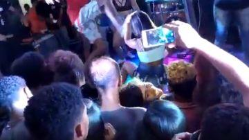 Agresión a una joven en Brasil