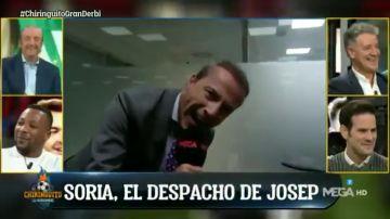 Cristóbal Soria se cuela en el despacho de Josep Pedrerol y descubre su secreto mejor guardado