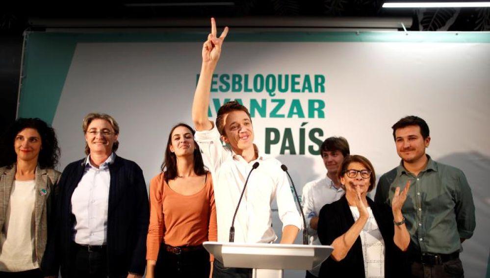 El candidato al Congreso por Más País, Íñigo Errejón