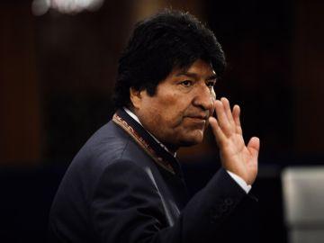 Evo Morales en una imagen de archivo