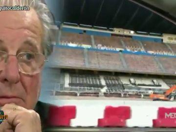Las emoción de Jorge D'Alessandro con los últimos momentos del Vicente Calderón