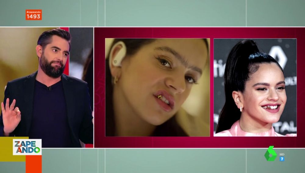 """Dani Mateo alucina con el análisis de Josie y Cristina Pedroche sobre el entrecejo de Rosalía: """"¿Estáis viendo la misma foto que yo?"""""""