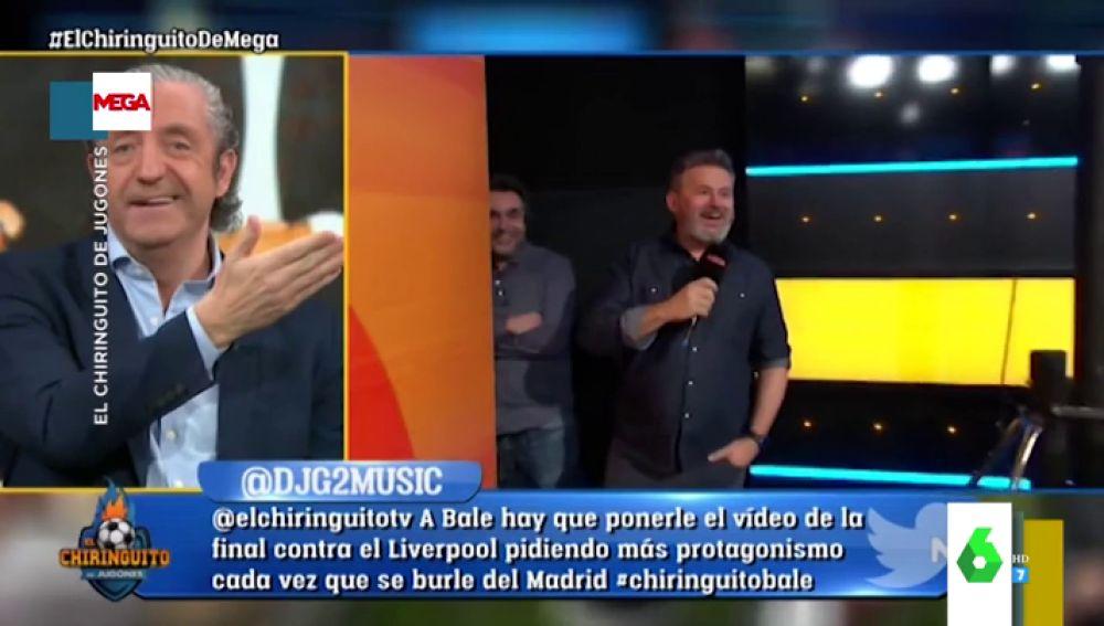 Josep Pedrerol y Miki Nadal