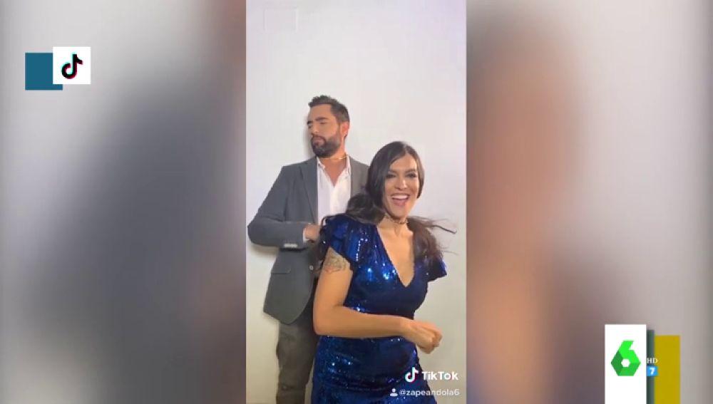 Dani Mateo y Lorena Castell