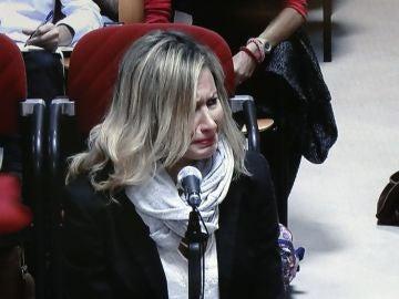 La madre de Diana Quer en el juicio por el crimen