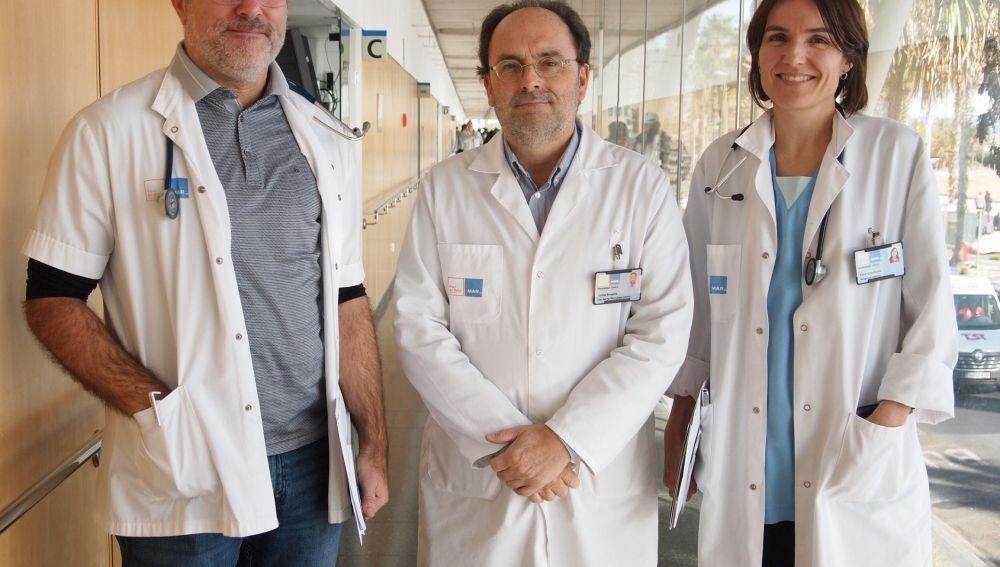 Autores del estudio sobre la hemorragia subaracnoidea