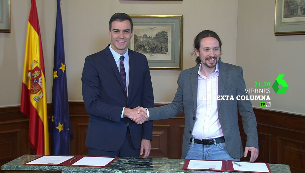 "'Sanchez e Iglesias, contra el Dr.no"", en laSexta Columna"