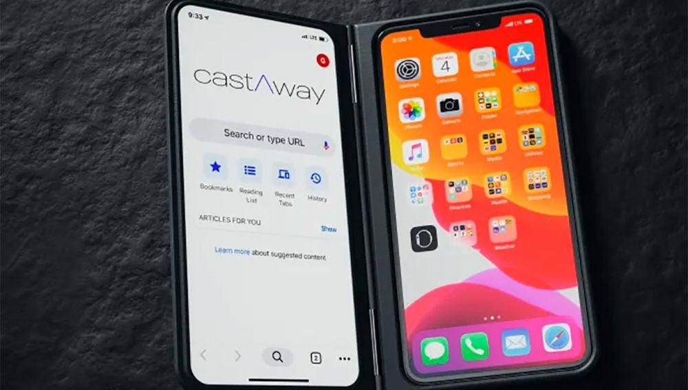 La pantalla secundaria CastAway