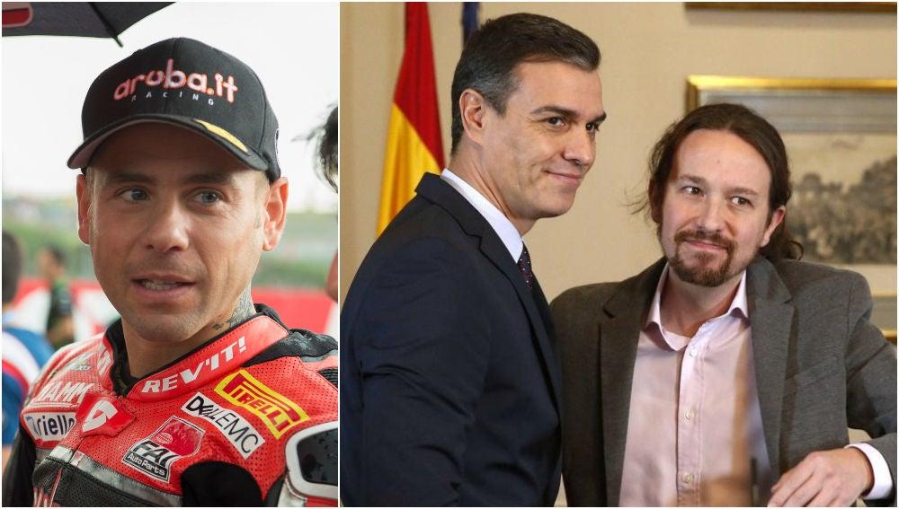 Álvaro Bautista carga contra Pedro Sánchez y Pablo Iglesias