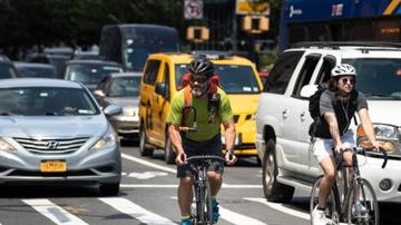 Ciclistas por la ciudad