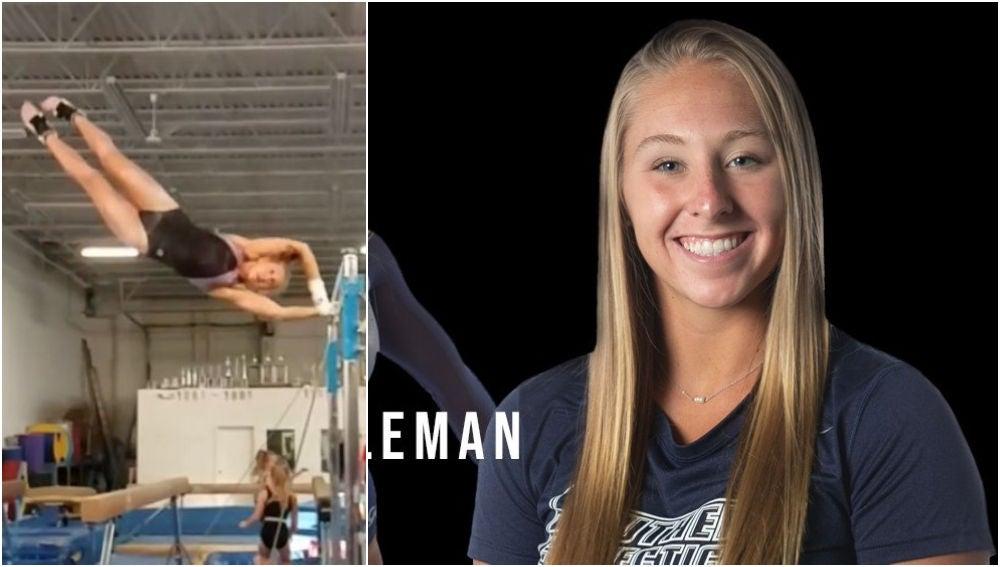 Muere la joven gimnasta Melanie Coleman