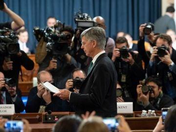 El embajador interino de EEUU en Ucrania, Bill Taylor