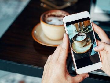 Enviar una foto por el móvil