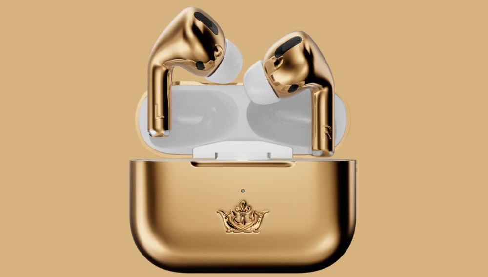 AirPods Gold Edition de Caviar