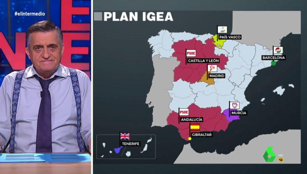 Wyoming desvela 'el plan Igea' en El Intermedio