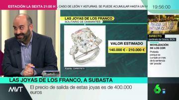 Estas son las joyas de la familia Franco que salen a subasta el 27 de noviembre