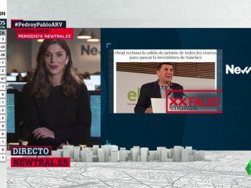 No, Otegi no ha pedido la libertad de los presos de ETA para apoyar la investidura