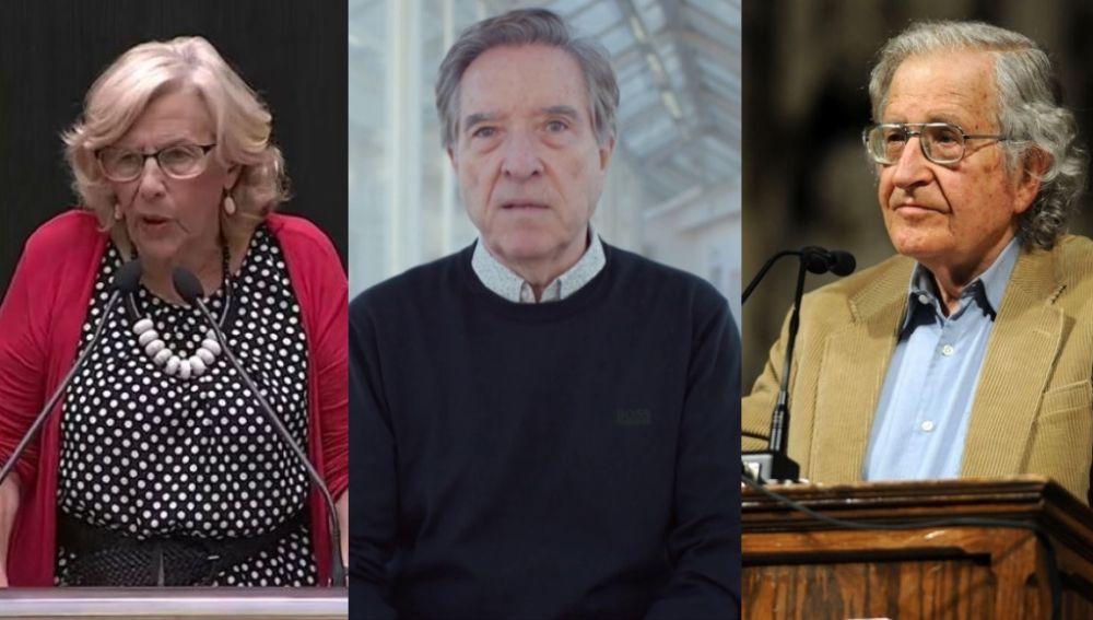 """Carmena, Gabilondo y Chomsky apoyan un manifiesto en favor de """"una negociación política"""" en Cataluña"""