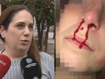 Eva Tejero, la madre de la niña agredida en Jerez