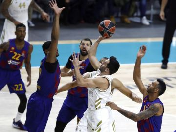 El base del Real Madrid, Facundo Campazzo.