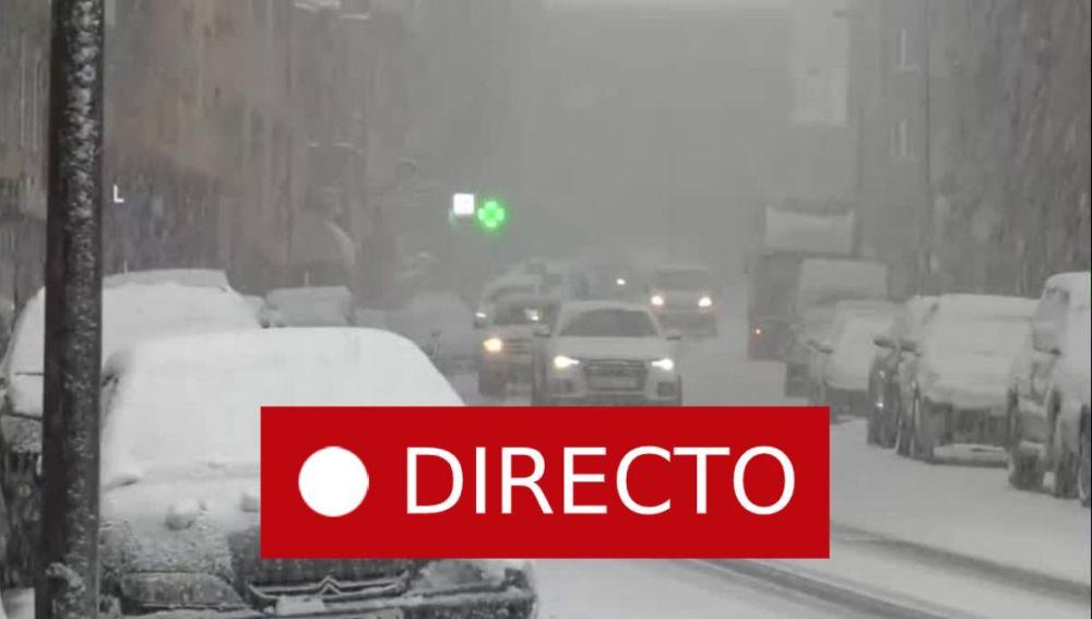 Asturias, Galicia, Madrid y León | Temporal de nieve en España y el estado de las carreteras en directo