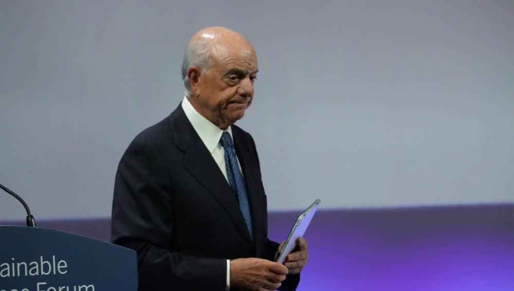 Francisco González, expresidente del BBVA