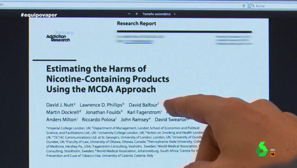 El negocio del cigarrillo electrónico: las empresas tabacaleras son las que financian los estudios que defienden el vapeo