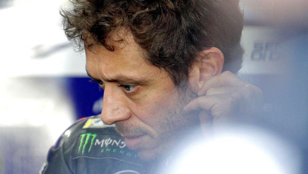 Valentino Rossi, en Cheste