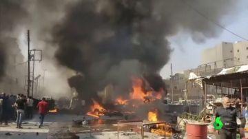 Explosión de un coche bomba en Siria