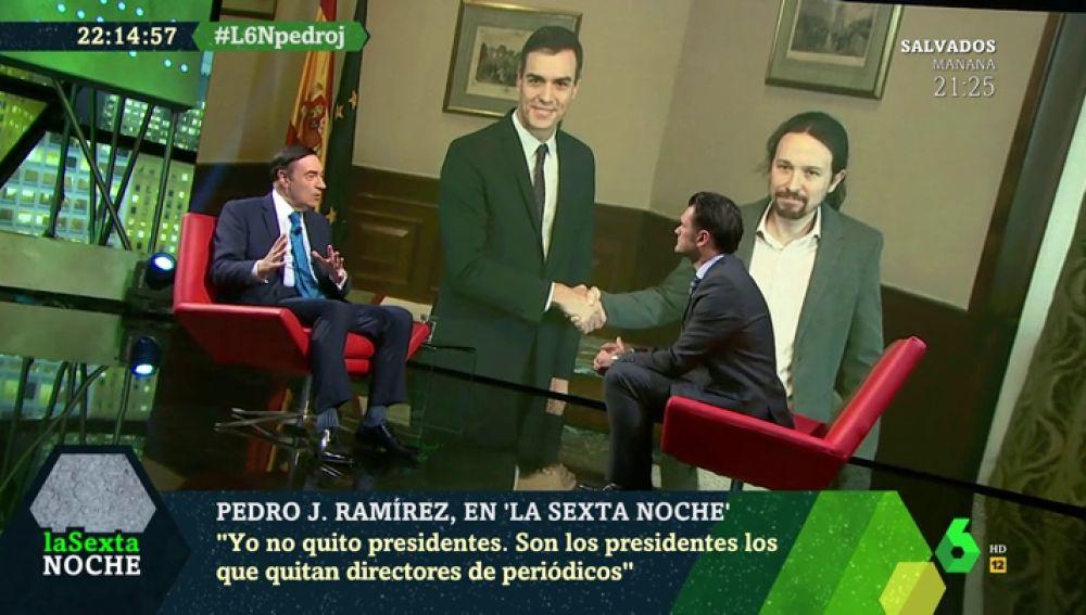 """Pedro J. Ramírez: """"Lo que hace dos meses no dejaba dormir a Sánchez hoy es 'imprescindible'"""""""
