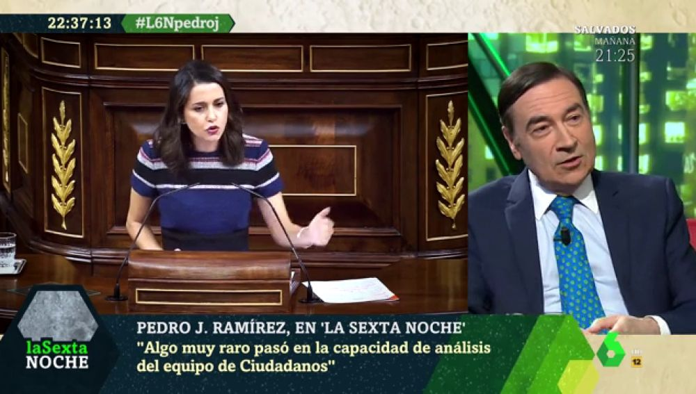 Pedro J Ramírez en laSexta Noche