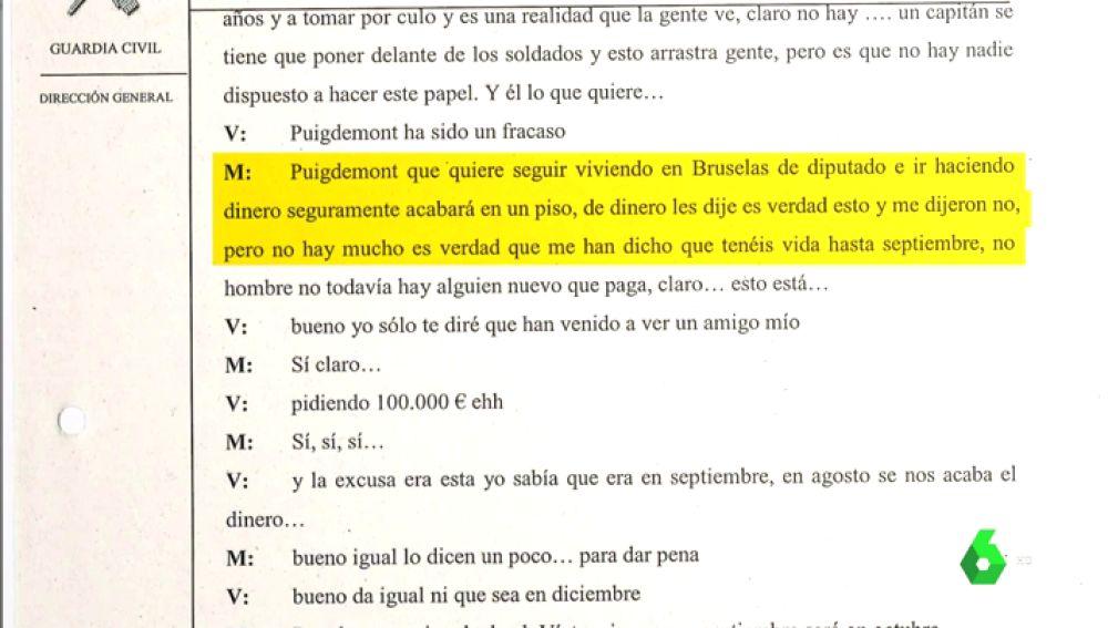 Conversaciones entre Víctor Terradellas y Miquel Casals