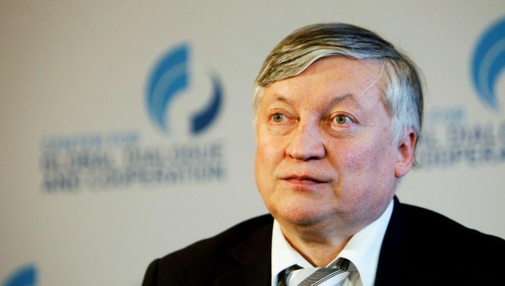 Anatoli Karpov, en una imagen de achivo