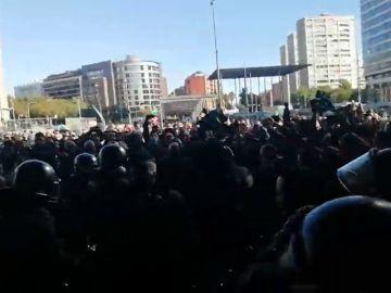 Imagen del exterior de la estación de Sants, Barcelona