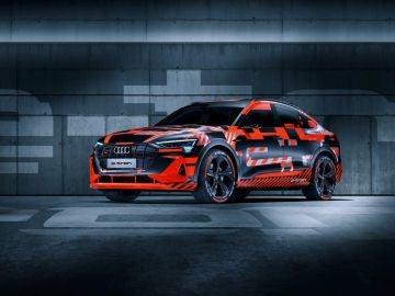 Teaser Audi e-tron Sportback
