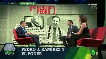 """La relación de Pedro J. Ramírez con Felipe González: """"Creó una trama de terrorismo de Estado, es inmoral"""""""