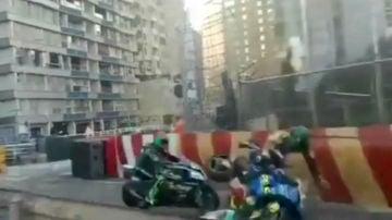 Accidente en el GP de Macao