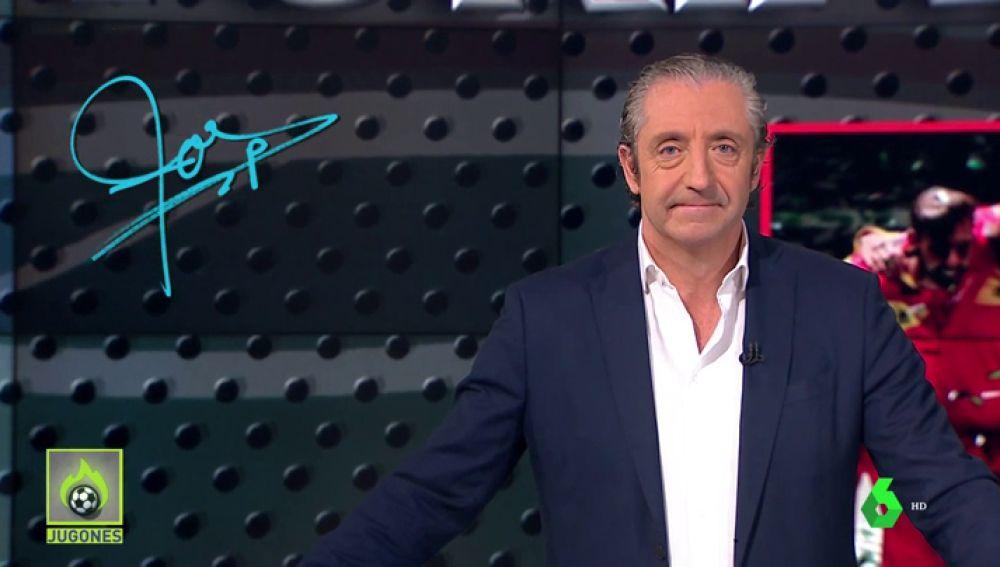 """Josep Pedrerol: """"Gracias por transmitir al mundo la mejor imagen de España"""""""