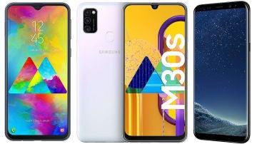 Samsung M20, M30, S8