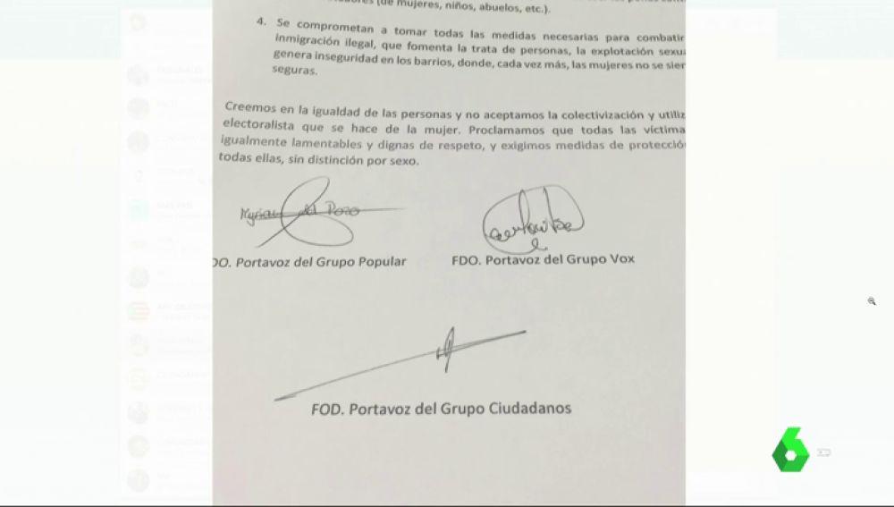 PP y Cs dan marcha atrás tras presentar una moción junto a Vox en El Espinar para derogar la ley de violencia machista