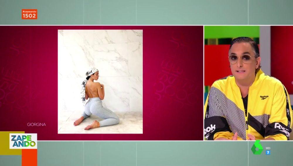 """El análisis de Josie sobre el comentado topless de Georgina Rodriguez en Instagra: """"Es un gran perfil"""""""