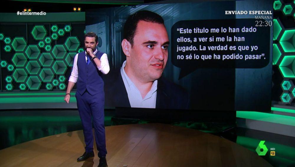 """""""A ver si me la han jugado, no sé qué ha podido pasar"""": así negaba un diputado del PP de León haber falsificado su currículum"""