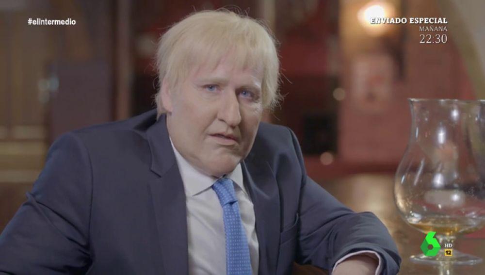 """Joaquín Reyes se convierte en Boris Johnson para lanzar un aviso: """"En Europa os vais a cagar cuando salgamos"""""""