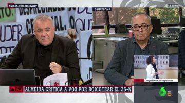 """Joan Coscubiela, analista de laSexta: """"La derecha va a estar secuestrada por los planteamientos de Vox"""""""