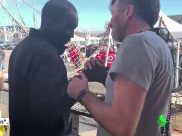 Desembarcan en Italia los 140 migrantes rescatados por el 'Open Arms' y el 'Aita Mari'