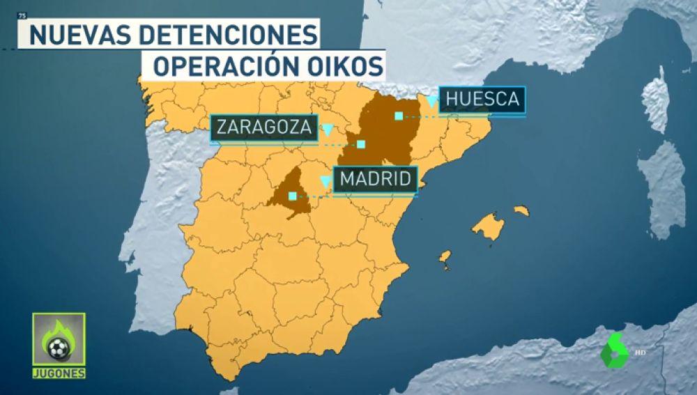 Segunda fase de la Operación Oikos: Pichu Atienza e Iñigo López son detenidos junto a otros siete presuntos implicados