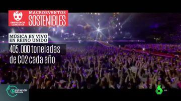 Macroeventos 'macrocontaminantes': la iniciativa de Coldplay para no contribuir al calentamiento global